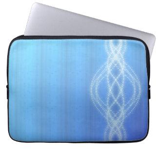 Blaue Lichter Laptopschutzhülle
