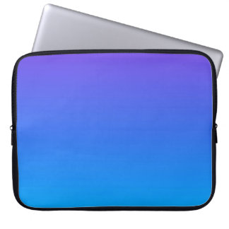 Blaue/lila Ombre Laptop-Hülse Laptop Sleeve