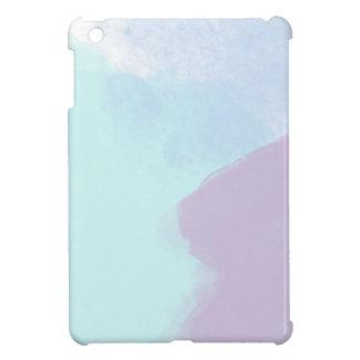 Blaue lila Wasserfarbe Hüllen Für iPad Mini