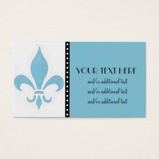Blaue Lilie Visitenkarte