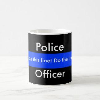 Blaue Linie Kaffee-Tasse Kaffeetasse