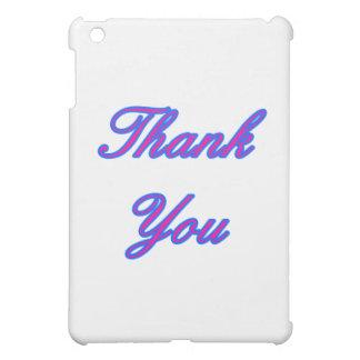 Blaue Magenta danken Ihnen, den MUSEUM Zazzle Gi iPad Mini Hüllen