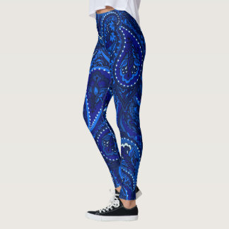Blaue Magie 101 Leggings
