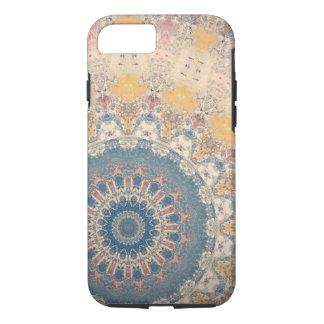 Blaue Mandala iPhone 8/7 Hülle