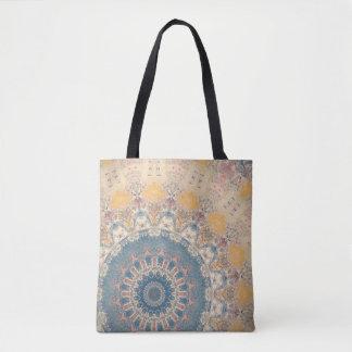 Blaue Mandala Tasche