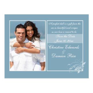 Blaue Meere Postkarte
