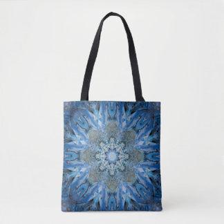 Blaue Meerespflanze-Tasche Tasche