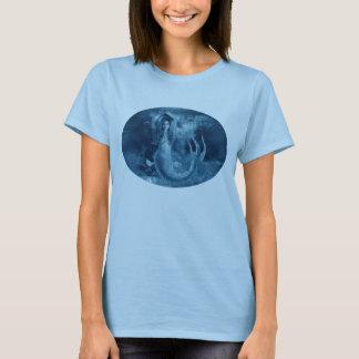 Blaue Meerjungfrau T-Shirt