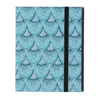 Blaue Meerjungfrauskalen, boho, Hippie, böhmisch iPad Hülle