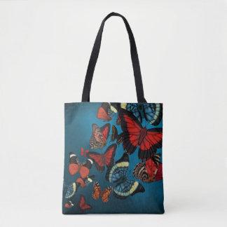 Blaue Metamorphose-Schmetterlinge Tasche