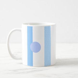 Blaue Mischung u. Match Kaffeetasse