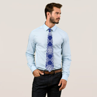 Blaue Mode-Therapie 4Gene Individuelle Krawatte