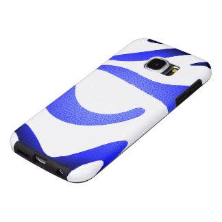 Blaue Mosaik-Samsung-Galaxie S6