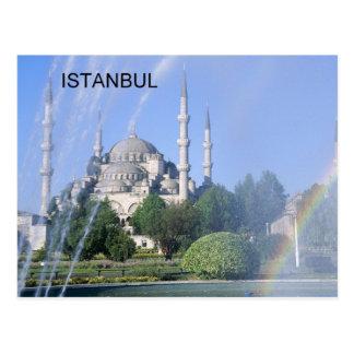 Blaue Moschee der Türkei Istanbul (St.K) Postkarte