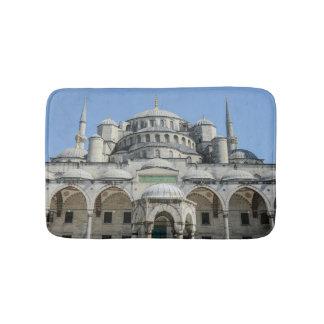 Blaue Moschee in Istanbul die Türkei Badematte