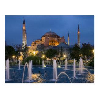Blaue Moschee, Istanbul, die Türkei Postkarte