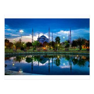 Blaue Moschee Istanbuls in der Türkei