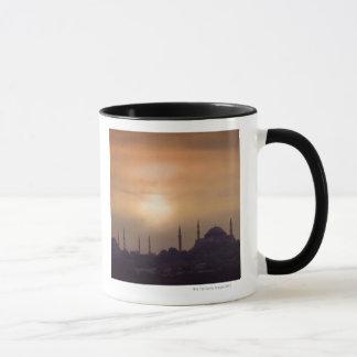 Blaue Moschee und Hagia Sophia die Türkei, Tasse
