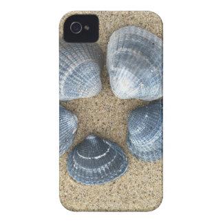 Blaue Muscheln iPhone 4 Case-Mate Hüllen