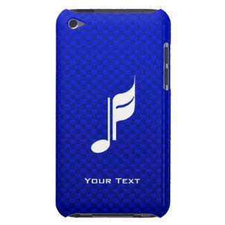 Blaue Musik-Anmerkung iPod Touch Case