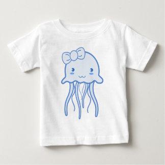 Blaue niedliche Quallen Baby T-shirt