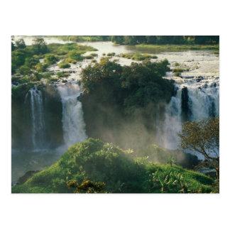 Blaue Nil-Fälle, Äthiopien Postkarte