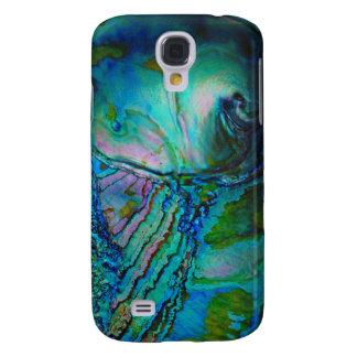 Blaue Ohrschnecken-Muschel Galaxy S4 Hülle