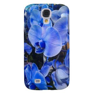 Blaue Orchideen-kaum dort Fall für HTC klares 4G Galaxy S4 Hülle
