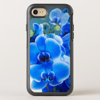 Blaue Orchideen OtterBox Symmetry iPhone 8/7 Hülle