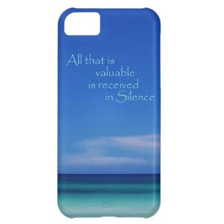 Blaue Ozean-Ruhe abstrakter iPhone Fall iPhone 5C Hülle