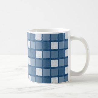 Blaue Quadrate Haferl