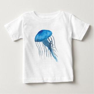 Blaue Quallen Baby T-shirt