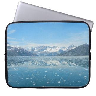 Blaue Reflexions-Laptop-Hülse Laptopschutzhülle