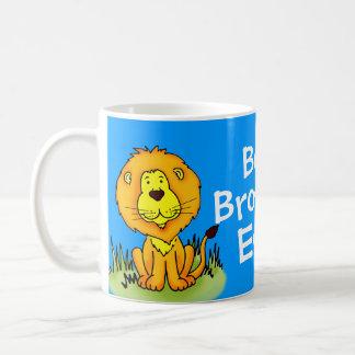 Blaue Reise des besten Löwes des Bruders Tasse