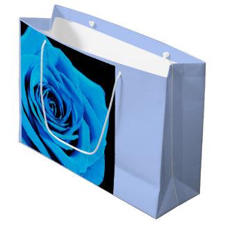 Blaue Rose Große Geschenktüte