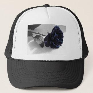 Blaue Rose Truckerkappe