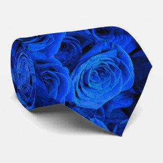Blaue Rosen Bedruckte Krawatten