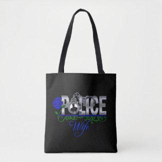 Blaue Rosen-Polizei-Ehefrau Tasche