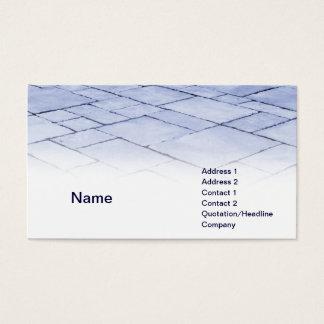 blaue Schiefer Visitenkarten