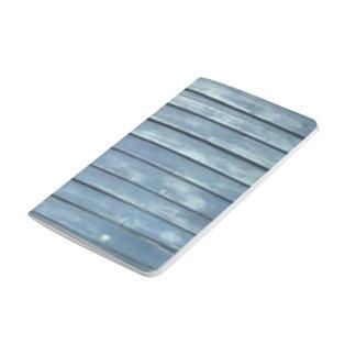 Blaue Schindel Taschennotizbuch