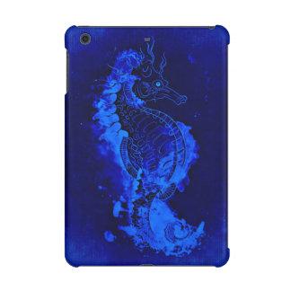 Blaue Seepferd-Malerei
