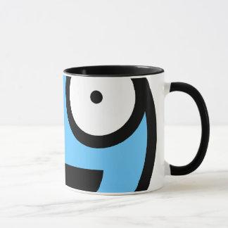 Blaue smiley-Tasse Tasse
