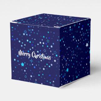 Blaue Sterne 2 Geschenkschachtel