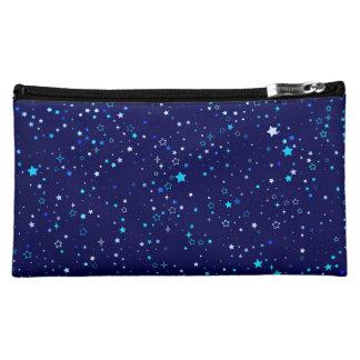 Blaue Sterne 2 Kosmetiktasche