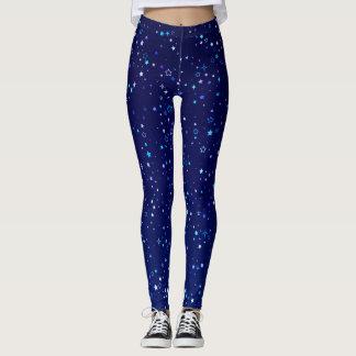 Blaue Sterne 2 Leggings