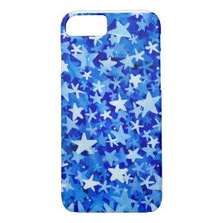 blaue Sterne iphone Fall iPhone 8/7 Hülle