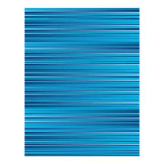 Blaue Streifen 21,6 X 27,9 Cm Flyer