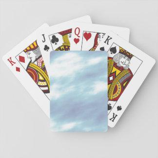 Blaue Sturm-Wolken Spielkarten