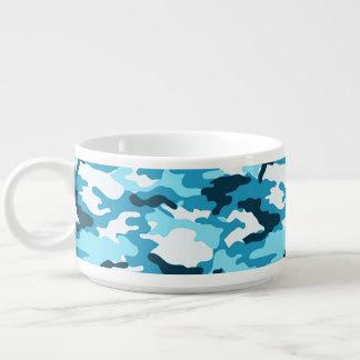 Blaue Tarnungs-Muster-Chili-Schüssel Schüssel