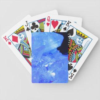 Blaue Traum-Kristall-Gruppe Bicycle Spielkarten